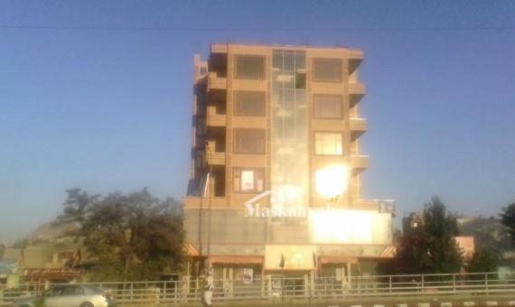 ساختمان هشت منزله کرایی مناسب برای شفاخانه ، شرکت ، هوتل