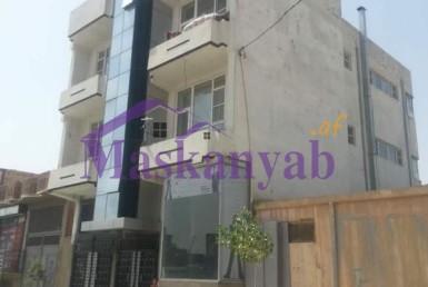 Three-Story Building for Sale at Khaja Boghra Square, Kabul.